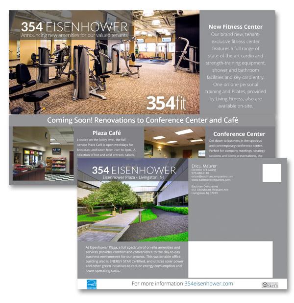 Print Media CPG Interactive - Fresh commercial real estate listing presentation design
